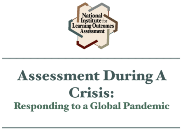 Panel Discussion with NILOA—Assessment During A Crisis: Checking In On You!