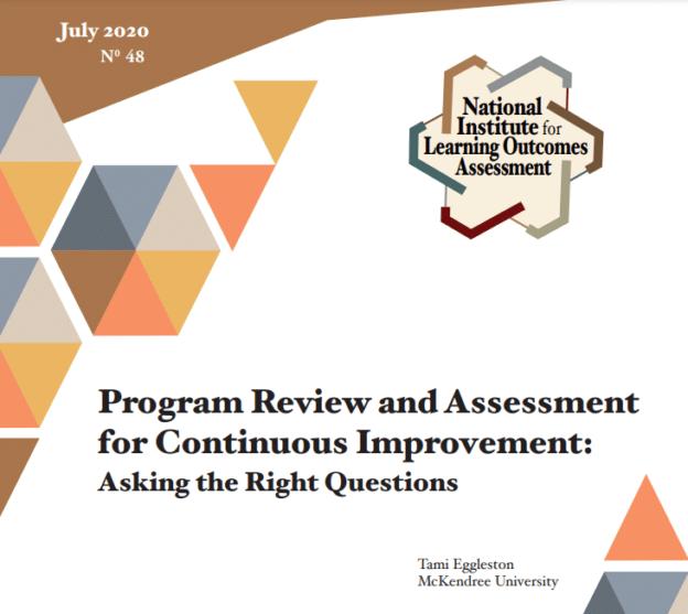 Lightning Talk Series—Program Assessment Done Right!