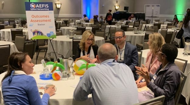 AEFIS Speed Networking—Meet with Our Partners & Super Users