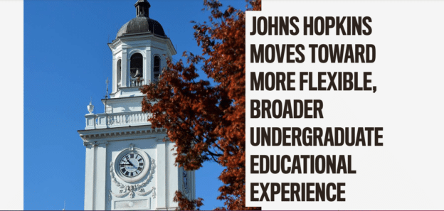 Meet Our Partners Series—Johns Hopkins University Second Commission on Higher Education (CUE2) Report Results & Lessons Learned